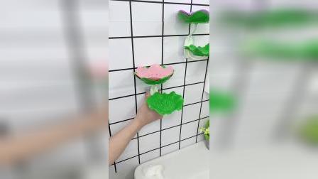 香皂肥皂没地方放,试试这个置物架吧