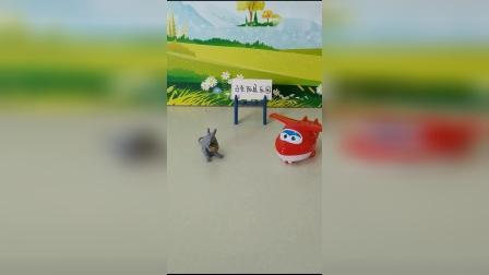 儿童玩具:乐迪第一次看见老鼠