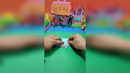 小海母儿童简易拼图,动物拼拼乐