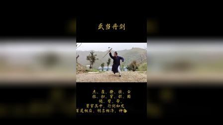 武当陈师睿演练武当丹剑