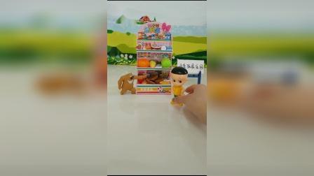 儿童玩具:大头儿子最喜欢吃水果糖