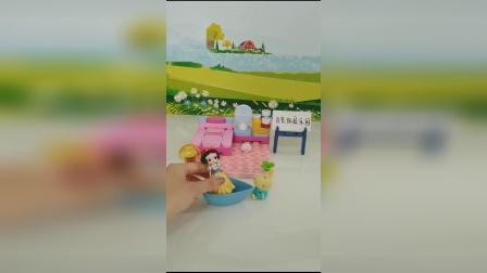 儿童玩具:公主脚的味道真臭