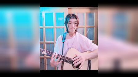二次元超炫演奏《freedom》卢嘉森指弹吉他原创
