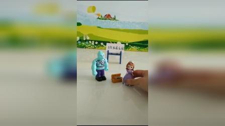 儿童玩具:苏菲亚是一个见钱眼开的人