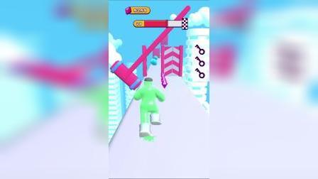 小游戏:海王来到空中,收集了多少钻石呢?