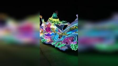 LED发光服装设计制作,海洋主题巡演,景区巡游演出服装定制