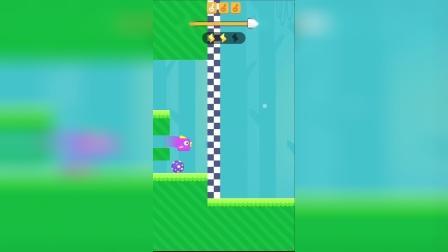 小游戏:小紫鸟终于安全到家啦,真是太棒了。