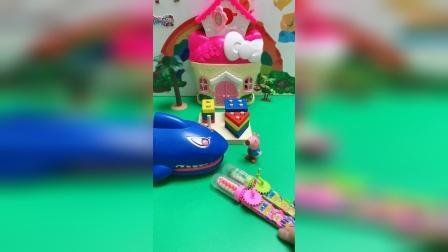 儿童玩具:小朋友知道乔治的板凳去哪里吗?