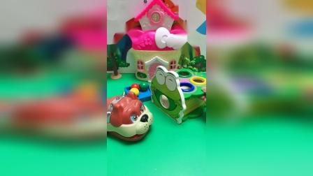 儿童玩具:小朋友知道我的蓝宝宝去哪啦?