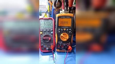 优利德UT61E+电压档测试