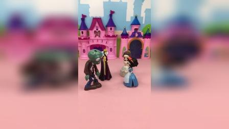 王后把贝儿赶出了家门,却要认僵尸当孩子