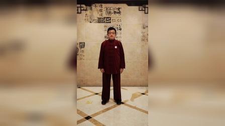 """038扎西传统杨氏太极拳85式入门教学(田雨林老师) """"转身摆莲"""""""