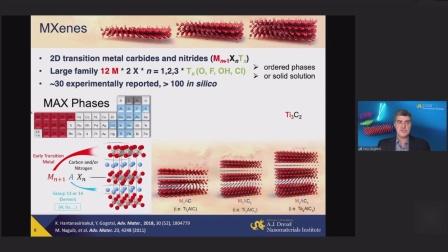 德雷塞尔大学Yury对MXene的研究讲座.MP4