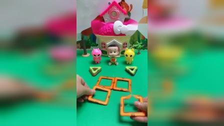 儿童玩具:爸爸妈妈去上班,我上幼儿园