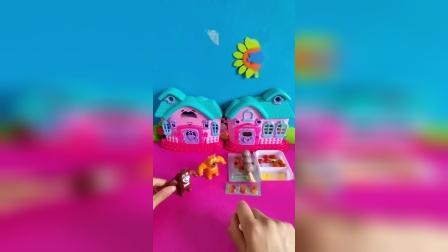 益智玩具:熊大熊二