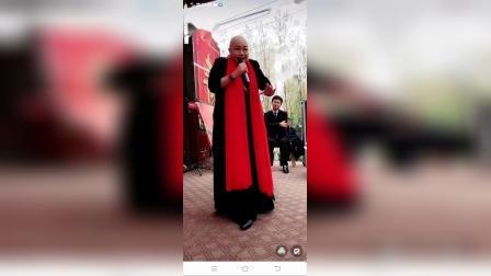 吴心平弟子,梨园春擂主王丹演唱包公选段。