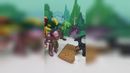 小怪兽偷吃大黄油饼干