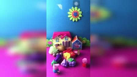 益智玩具:乔治帮助佩奇完成妈妈布置的任务