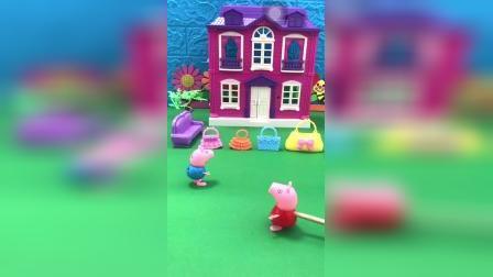 益智玩具:佩奇乔治送给妈妈的生日礼物