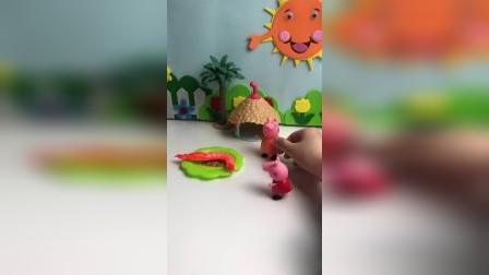 猪妈妈的龙虾被偷了,可恶的怪兽呢!