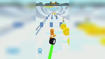 小游戏:加菲猫跑酷