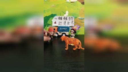 我家老虎很可爱的,不会咬人的