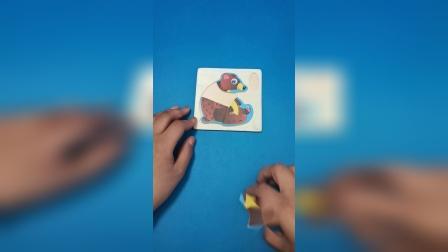 益智玩具:大狗熊拼图玩具真好玩