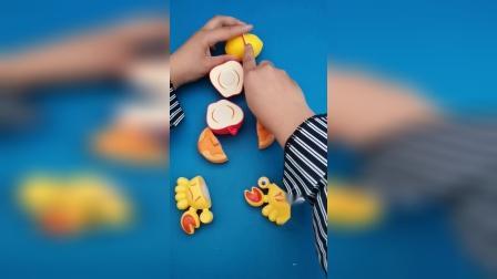 益智玩具:开始切小螃蟹喽