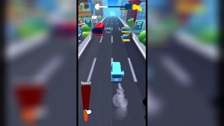 小游戏:疯狂跑车