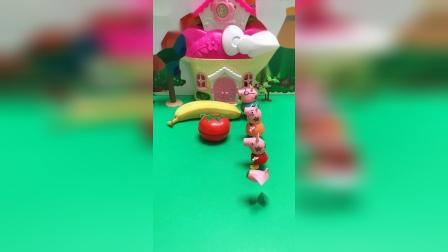 儿童玩具:小朋友,你们喜欢吃什么水果呢?