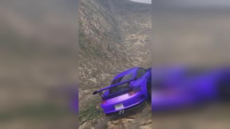 益智游戏:奥特曼在山顶上开汽车