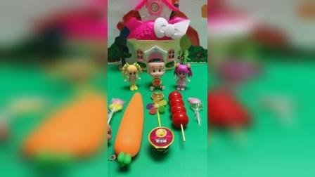 儿童玩具:你到底想吃哪个啊