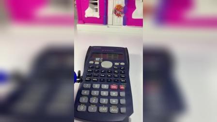 这个计算器怎么是坏的呀