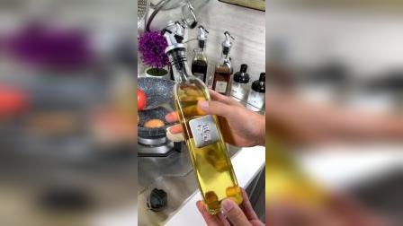 高颜值玻璃油瓶,瓶嘴不挂油