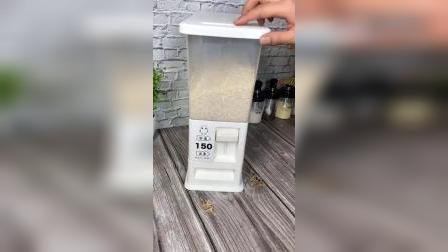 大米储存的正确做法,用这个米桶