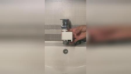 家里开关水龙头不好用的,试试这个智能感应水龙头