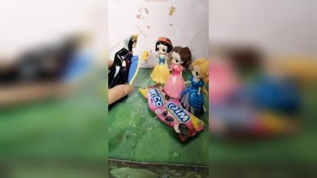 少儿玩具:白雪公主的饼干去哪了呢