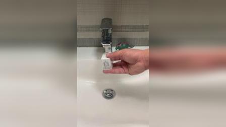 家里小孩调皮,总是乱玩水,我就入手了这个智能感应节水器