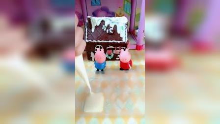 少儿玩具:你们谁想要这个巧克力做的房子