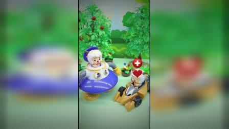 喜洋洋的玩具太有趣了