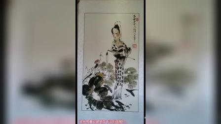国画大师梁永和喜迎建党100周年深圳国画展和中央党校国画展01