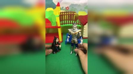 巫婆又来捣乱,奥特之王阻止他