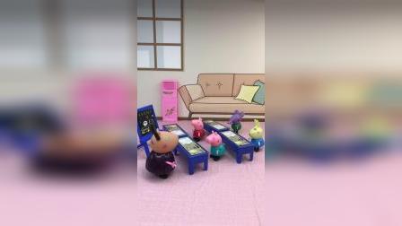 羚羊老师让同学们玩成语接龙游戏