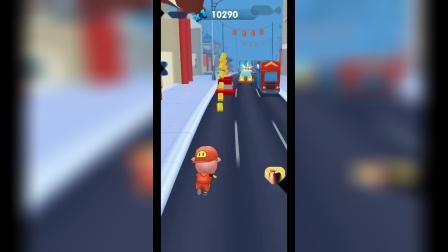 爆笑小游戏:小猪跑得真快呀