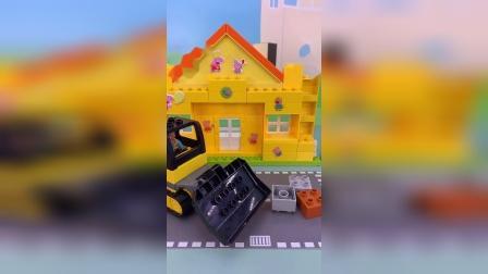 好玩的积木玩具 #玩具故事 #积木 #玩具视频