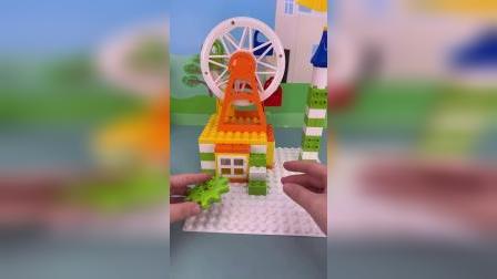 好玩的积木玩具 #玩具视频 #益智 #儿童玩具