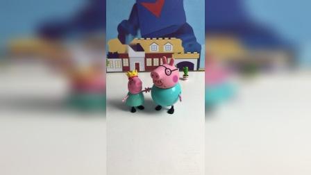 猪爸爸太胖了 猪妈妈很嫌弃!