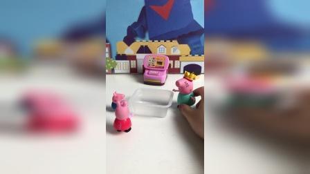 猪妈妈给乔治泡澡!