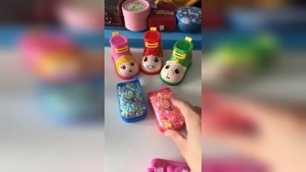 少儿玩具:这样的手机糖好吃吗
