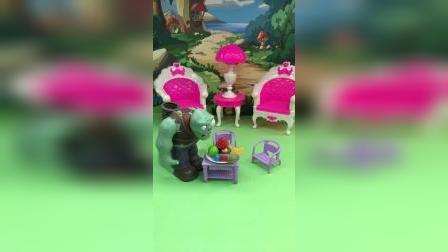 佩奇给乔治留了糖果,结果被僵尸偷吃了!